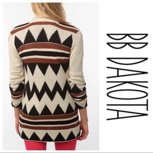 BB Dakota Aztec Cardigan
